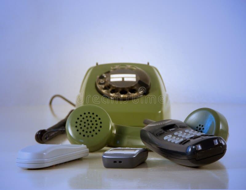 Telefones imagem de stock royalty free