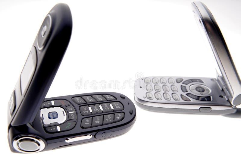 Telefones móveis fotografia de stock royalty free