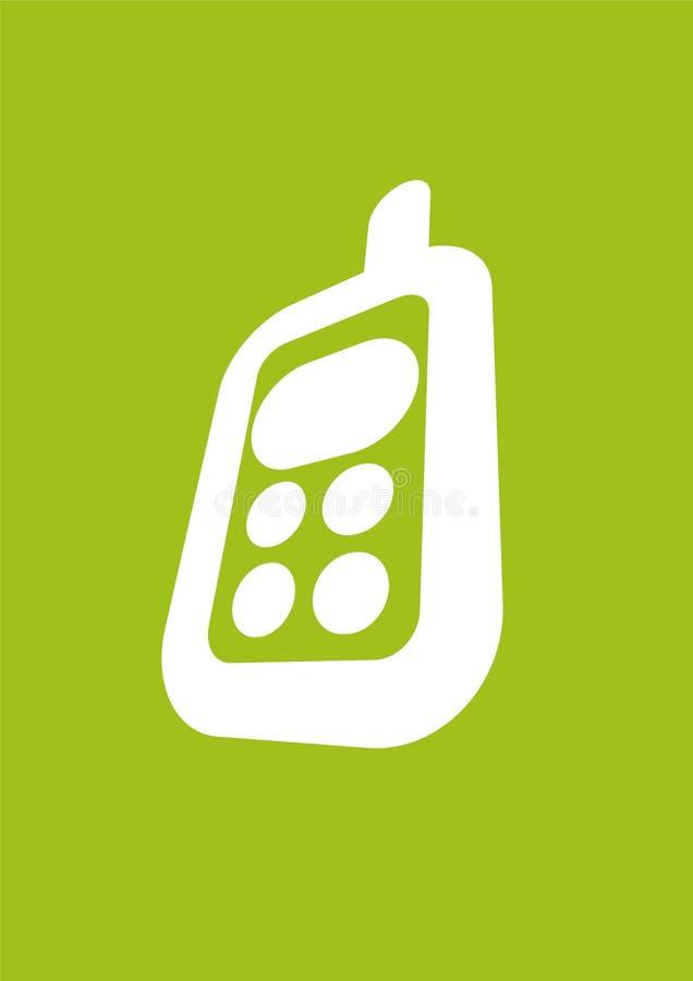 Telefones móveis ilustração stock