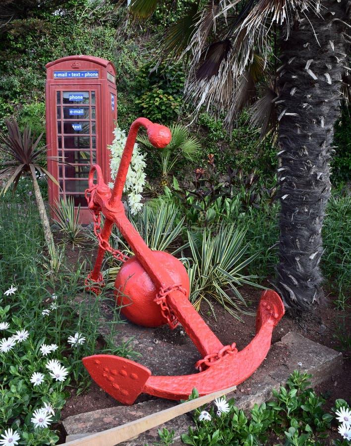 Telefonhaus von Großbritannien stockfotografie