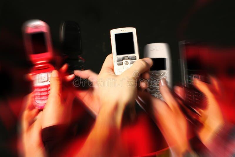 Download Telefoni Delle Cellule In Mani Immagine Stock - Immagine di mobilità, cellula: 7311875
