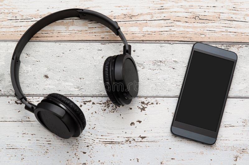 Telefoni e Smart Phone capi moderni senza fili fotografia stock