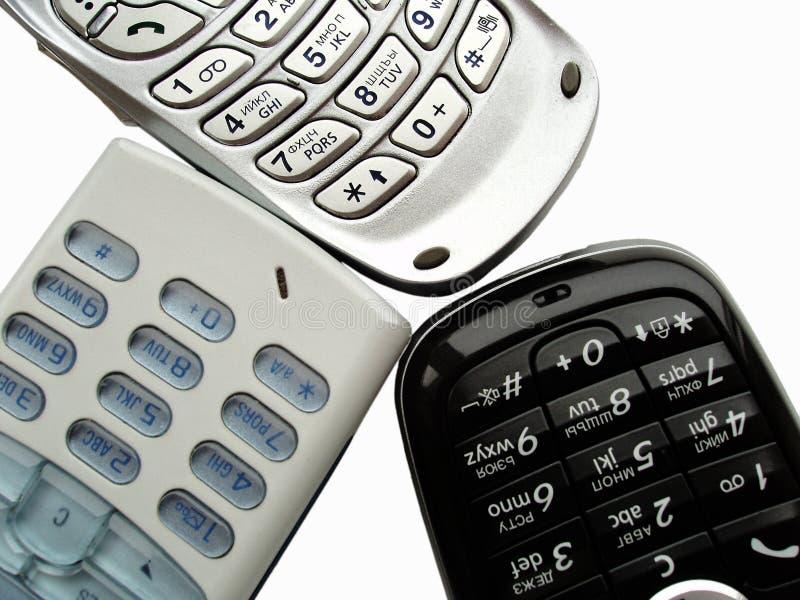 Telefoni mobili fotografie stock libere da diritti