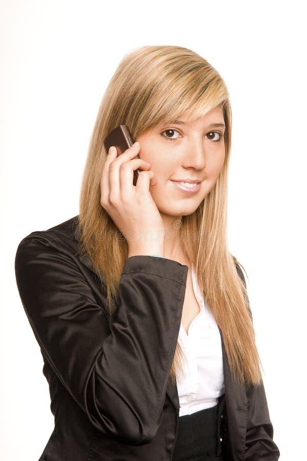 Telefoniczna Kobieta Obrazy Stock