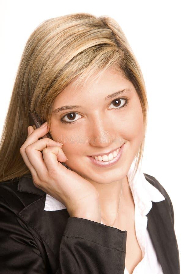 Download Telefoniczna kobieta obraz stock. Obraz złożonej z madam - 11946773
