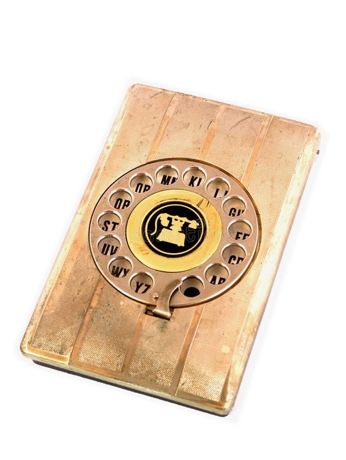 Telefoniczna książka telefoniczna obraz royalty free