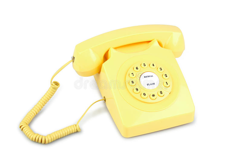 telefoniczny rocznik obrazy stock