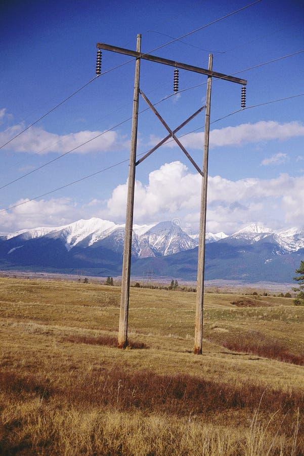 Telefonleitungen stockfotografie