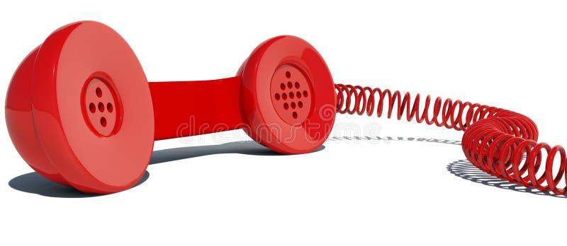 Telefonlur stock illustrationer