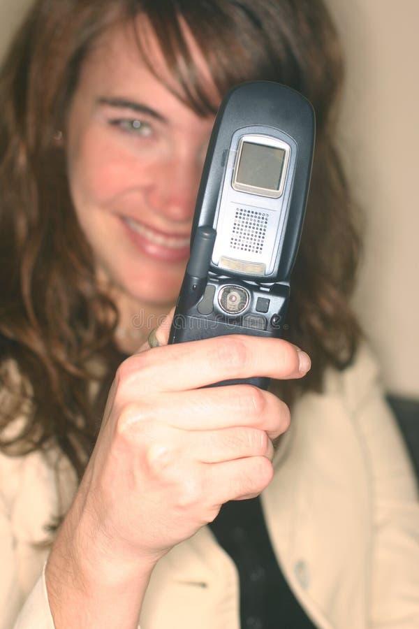 Telefono 1 delle cellule della macchina fotografica fotografia stock