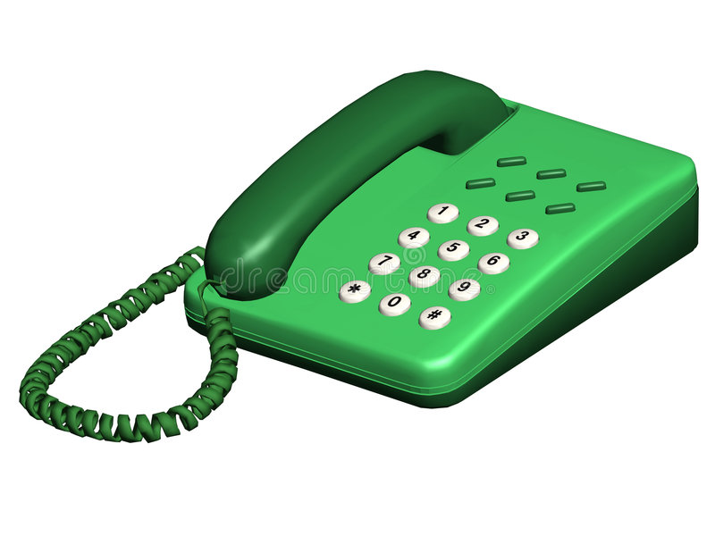 Telefono illustrazione di stock