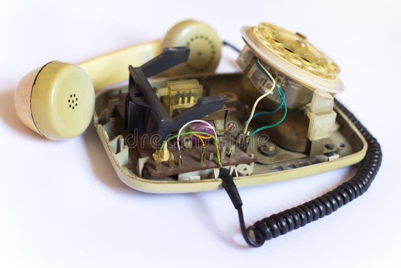 Telefono analogico fotografia stock libera da diritti