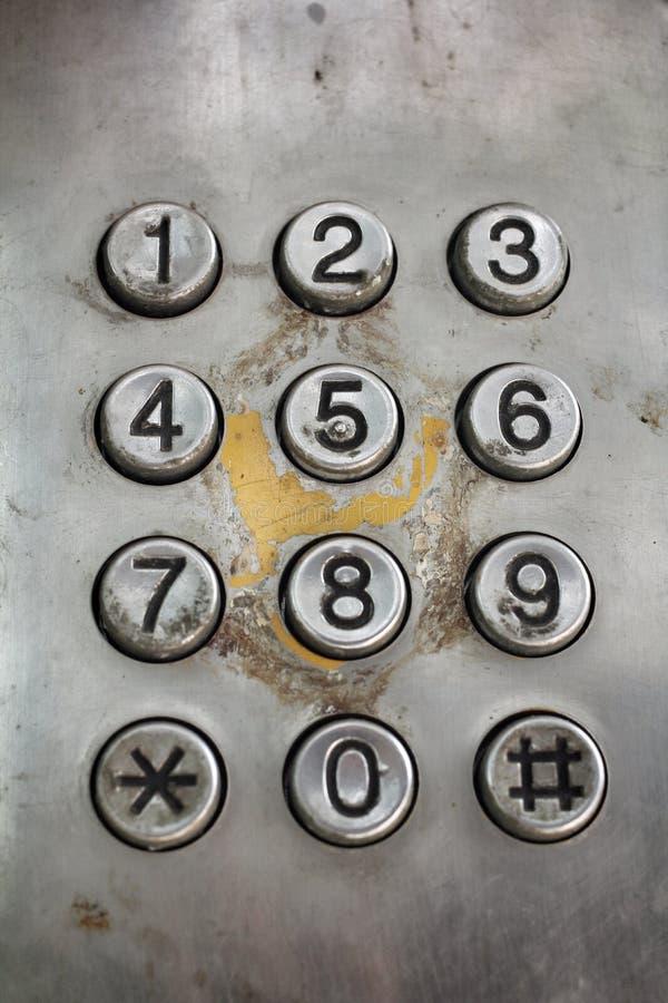 Telefono d'annata fotografia stock libera da diritti