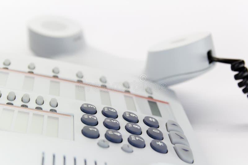 Telefono da tavolino immagine stock