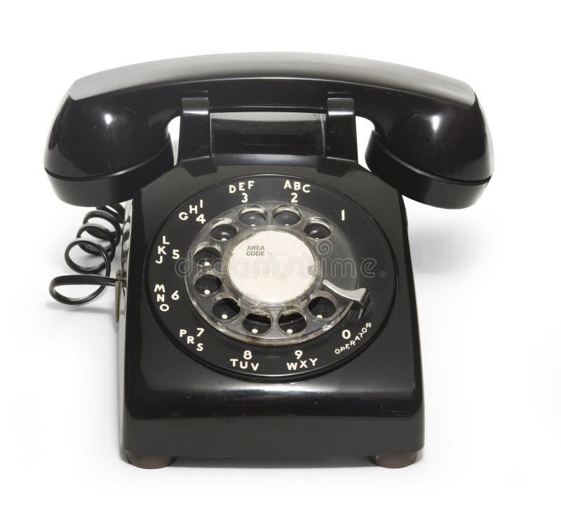telefono degli anni 50 fotografia stock libera da diritti
