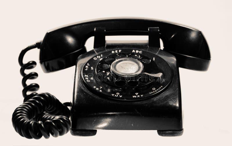 Telefono dell'annata fotografia stock