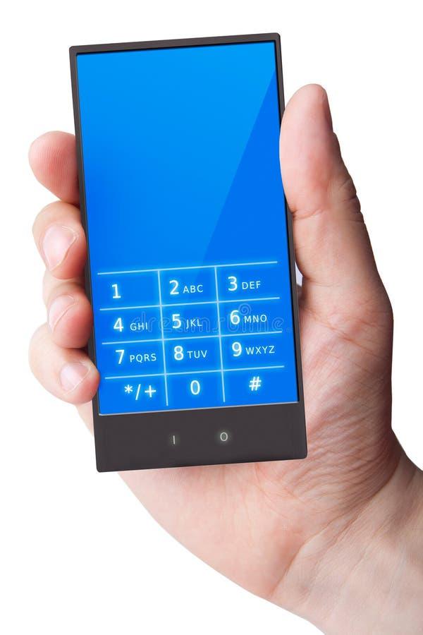 Telefono delle cellule disponibile immagini stock libere da diritti
