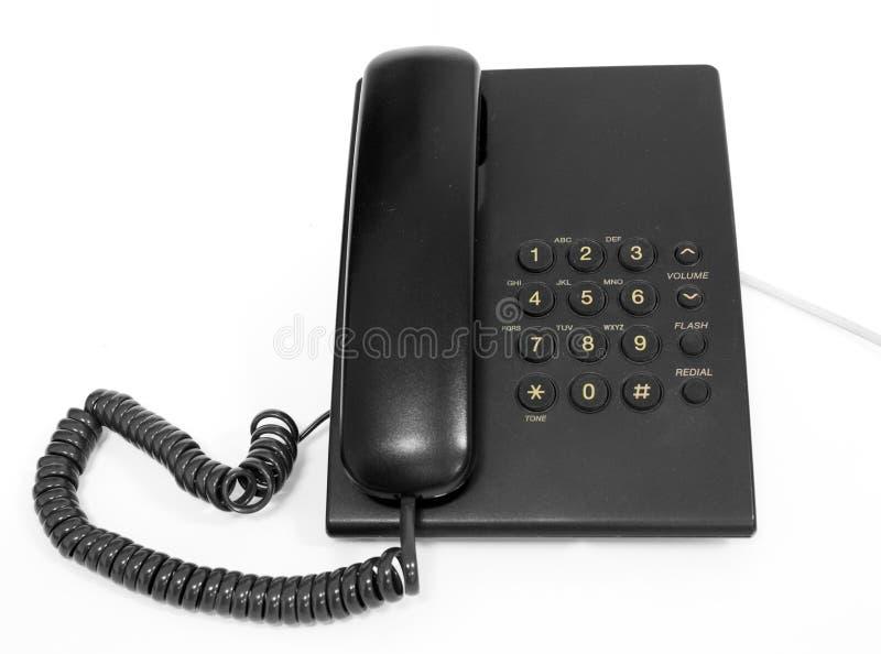 Telefono dello scrittorio fotografie stock libere da diritti