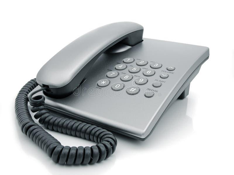 Telefono dello scrittorio fotografia stock libera da diritti