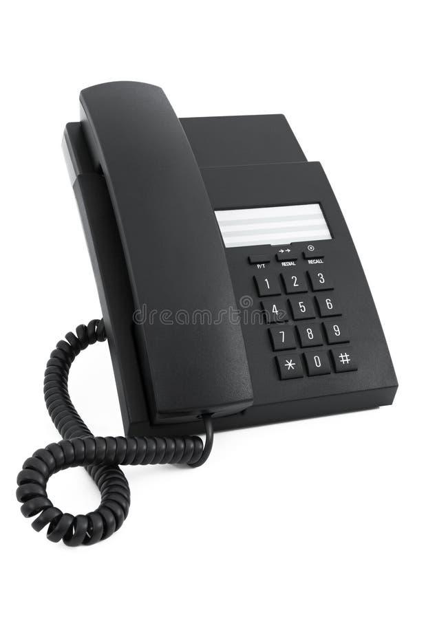 Telefono dello scrittorio immagini stock libere da diritti
