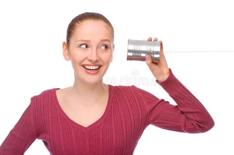 Telefono dello stagno fotografia stock libera da diritti