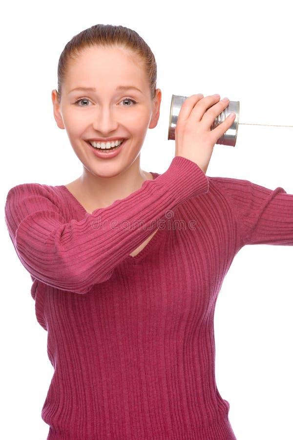 Telefono dello stagno fotografie stock