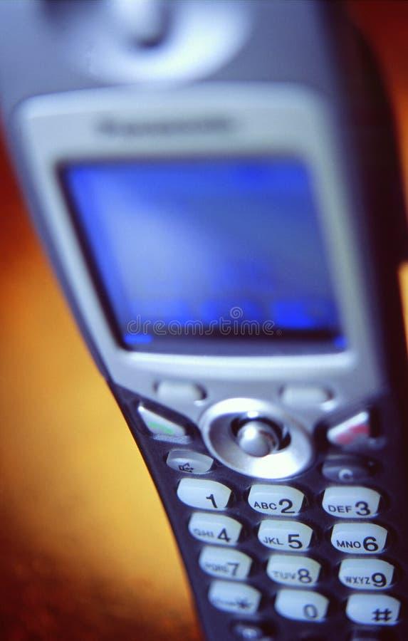 Telefono di Digitahi dect fotografia stock libera da diritti