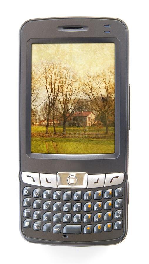Telefono di Pda fotografie stock libere da diritti