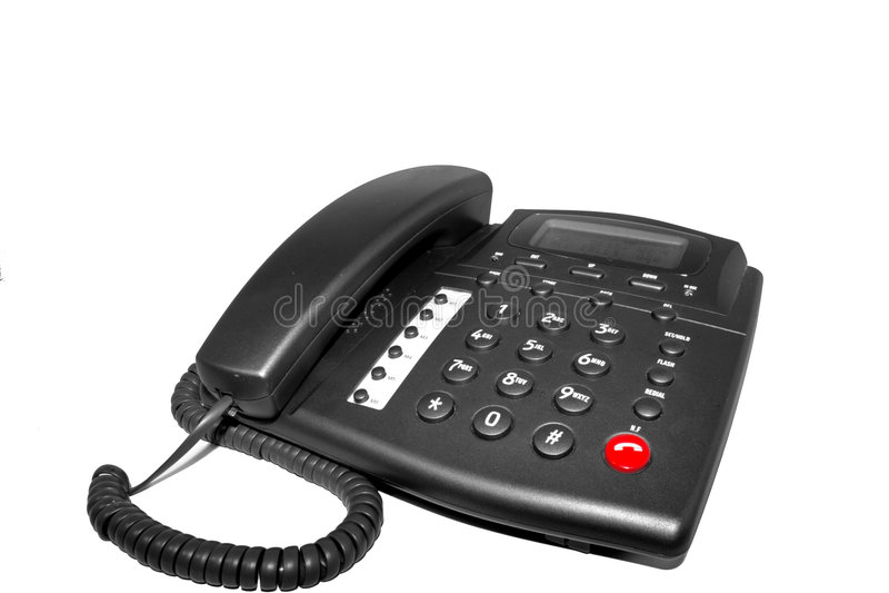 Telefono domestico immagini stock