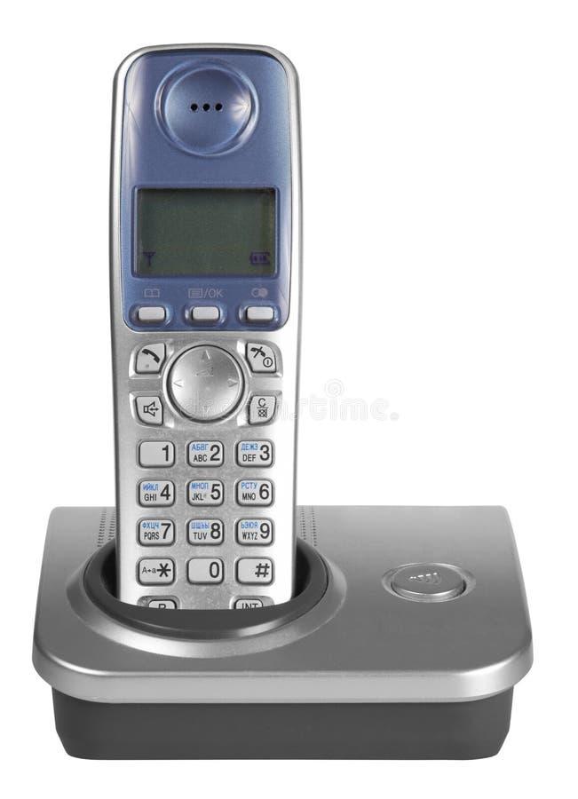 Telefono isolato immagine stock libera da diritti