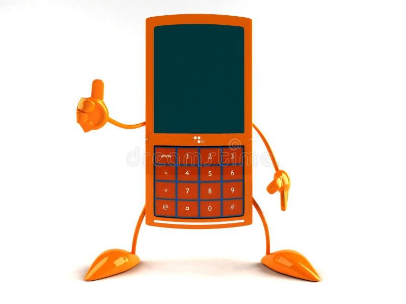 Telefono mobile illustrazione vettoriale