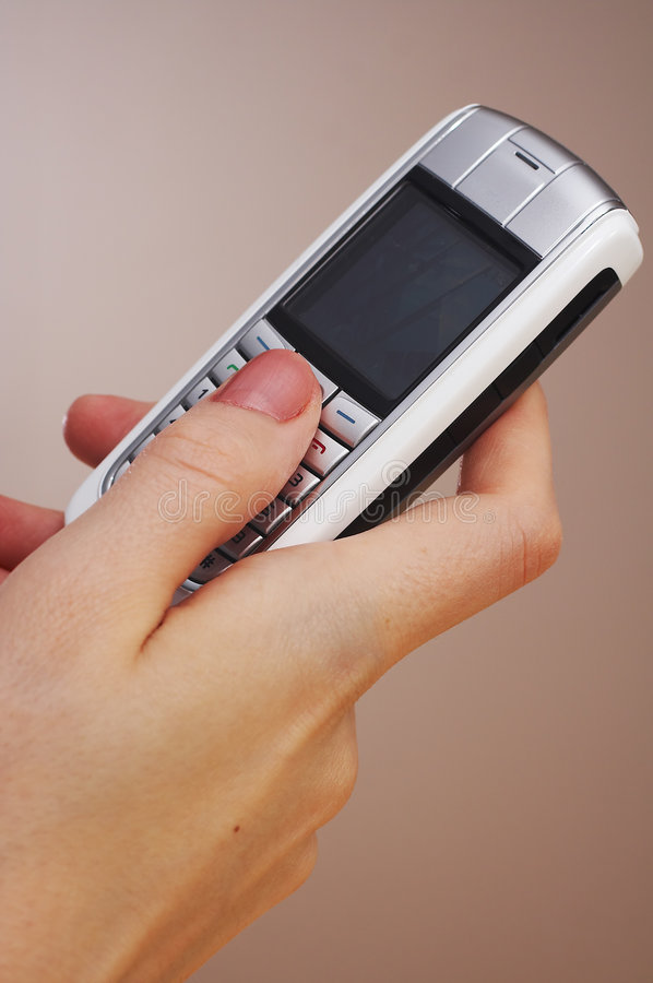 Telefono mobile immagini stock libere da diritti
