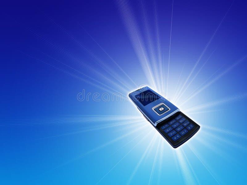 Telefono mobile delle cellule immagine stock