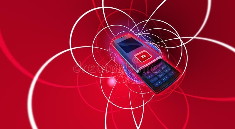 Telefono mobile delle cellule illustrazione vettoriale