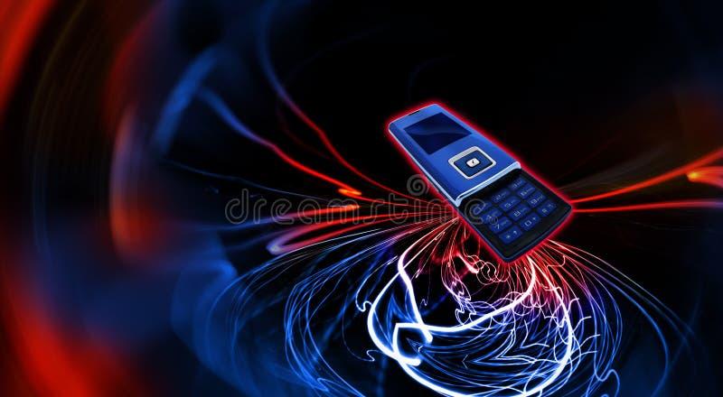 Telefono mobile delle cellule fotografie stock