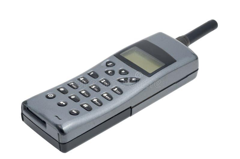Telefono mobile di vecchio stile fotografia stock libera da diritti