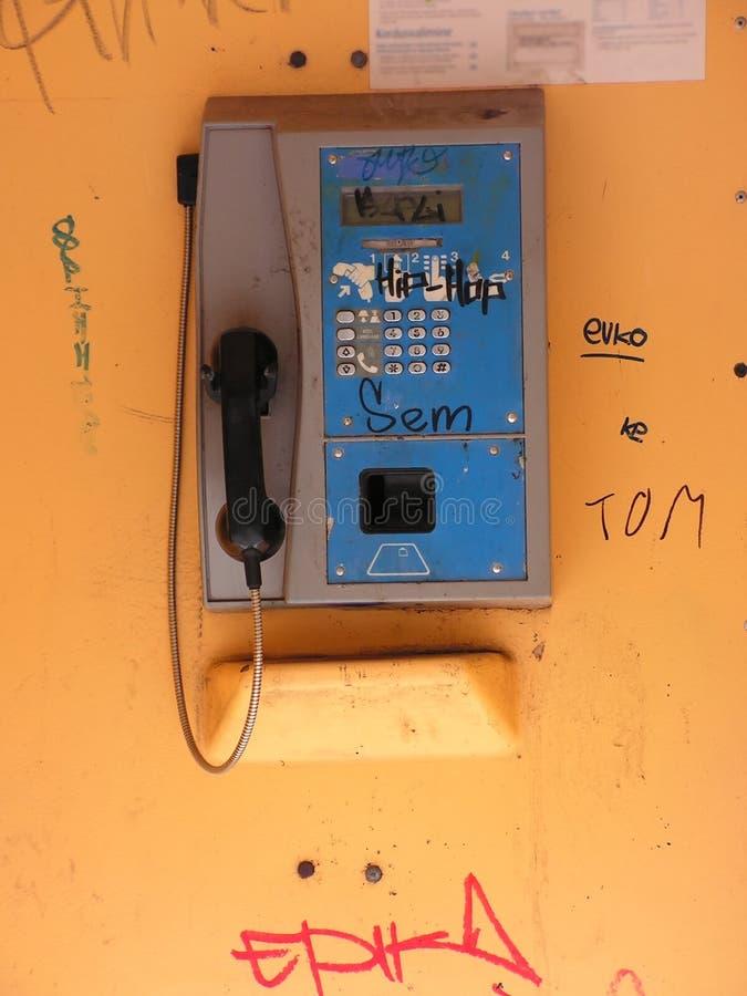 Telefono pubblico immagine stock libera da diritti