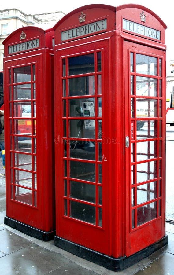 Telefono rosso immagini stock libere da diritti