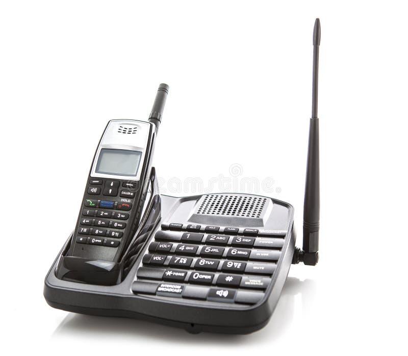 Telefono senza cordone della lunga autonomia fotografia stock