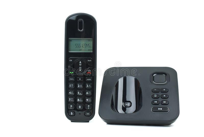 Telefono senza cordone moderno fotografia stock libera da diritti