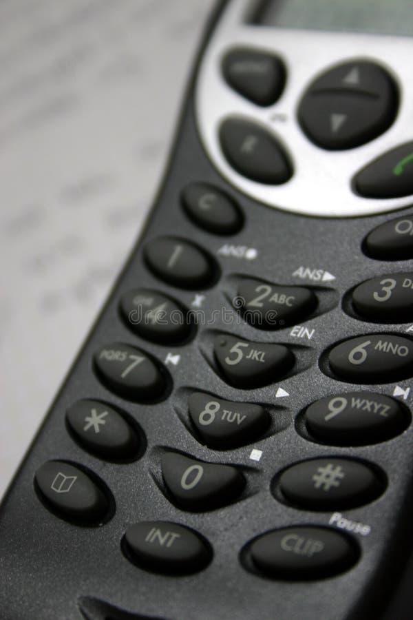 Telefono senza fili immagine stock libera da diritti