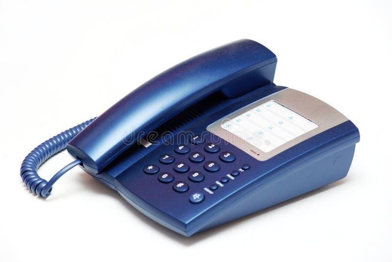 Telefono su bianco fotografia stock libera da diritti