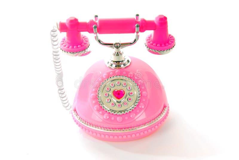 telefonprincess royaltyfria bilder