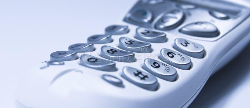 Telefonschlüsselauflage lizenzfreie stockfotos