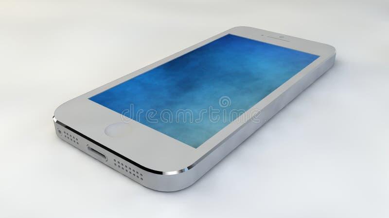 Telefonu komórkowego dotyka technologia royalty ilustracja