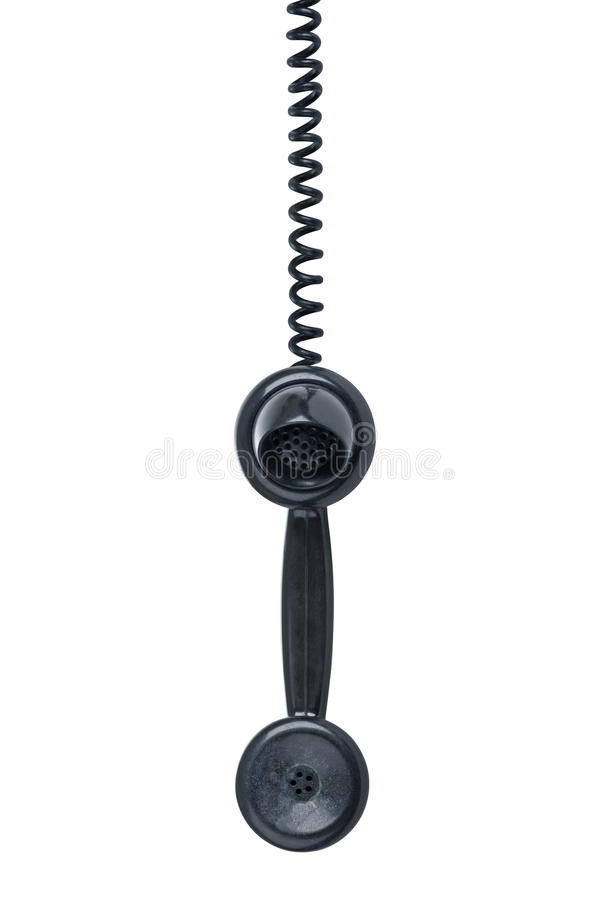 telefonu TARGET1989_1_ odizolowywający biel obrazy stock
