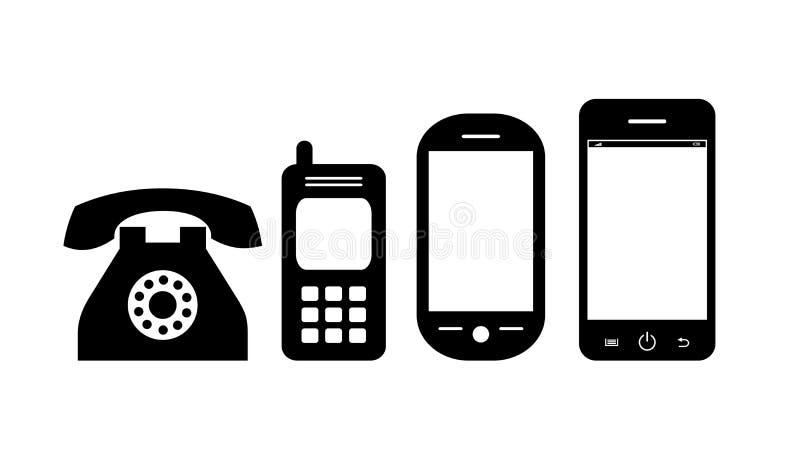 Telefonu wektoru ikona ilustracja wektor
