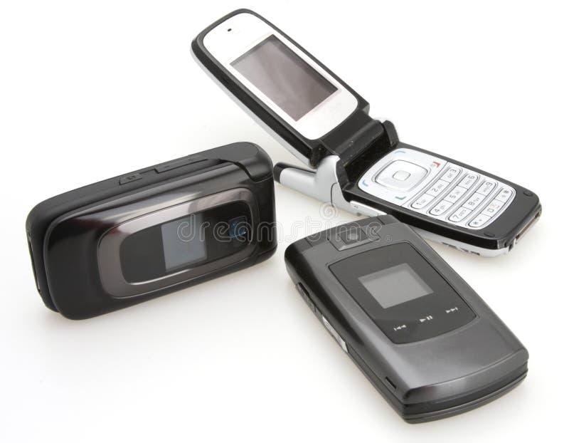 telefony komórkowe. zdjęcia royalty free