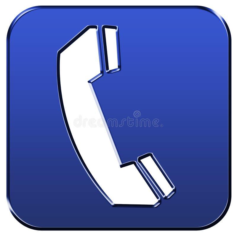 Telefonzeichen lizenzfreie abbildung