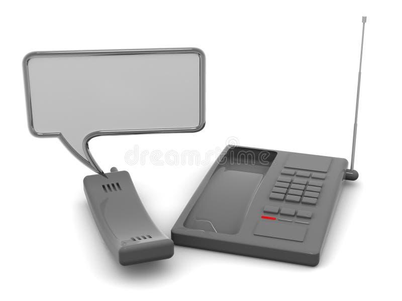 Telefoon stock illustratie